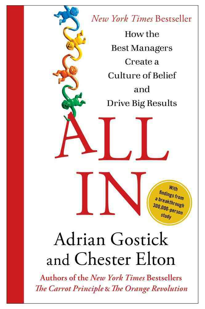 All In By Gostick, Adrian/ Elton, Chester